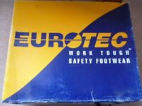 EUROTEC SAFETY BOOTS SIZE 9