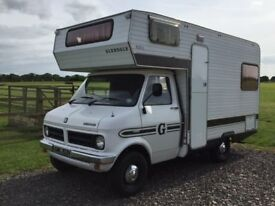 1980 Bedford CF250 Glendale Camper Motorhome only 42000 miles in Excellent Condition 2279cc Petrol
