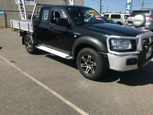 2008 Ford Ranger PJ XLT (4x4) Black Mica 5 Speed Manual Super Cab Pickup