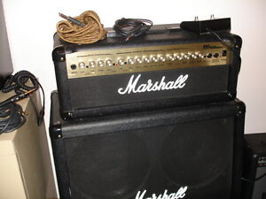 MARSHALL AMP AND PEDAL