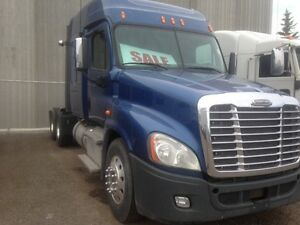 Call Syed for 2013 Freightliner Cascadia 60' Single Bunk