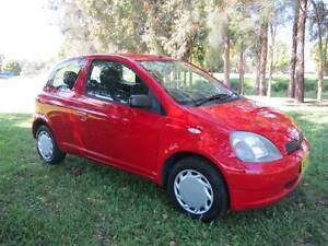 2001 TOYOTA ECHO, 180K, 6/17 REGO, FULL SERVICE HISTORY Maitland Maitland Area Preview