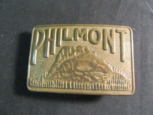 Philmont Scout Ranch Bronze Tooth of Time Buckle       c000