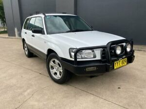 2003 Subaru Forester 79V X Wagon 5dr Man 5sp AWD 2.5i [MY03] White Manual Wagon Villawood Bankstown Area Preview