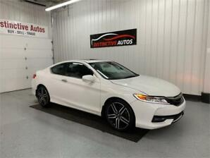 2016 Honda Accord Coupe Touring 6-SPD/LEATHER/NAVIGATION/B.CAM