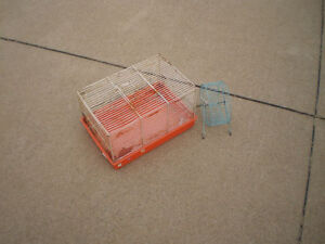 Hamster Cage With Wheel