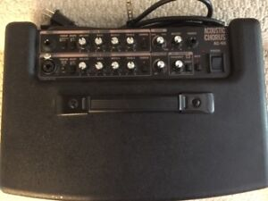 Roland Acoustic Chorus AC-60 Amplifier with Case.