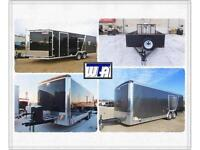 Four great trailers- all featured at fantastic prices!