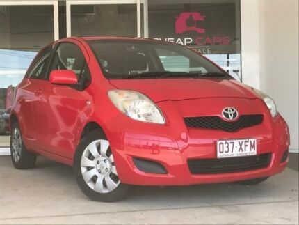 2011 Toyota Yaris NCP91R MY11 YRS Red 4 Speed Automatic Hatchback Brendale Pine Rivers Area Preview