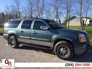 2008 GMC Yukon XL SLT 5.3 V-8 4X4 8 Passenger, Leather, Sunroof,