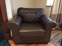 Ikea Ektorp Faux-Leather Armchairs (2)