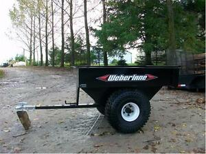 3x5 ATV Gravity Tilt Dump Trailer