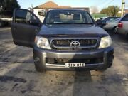 2008 Toyota Hilux GGN15R MY08 SR Charcoal Manual Cab Chassis Merrylands Parramatta Area Preview