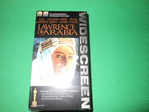 Lawrence of Arabia (Widescreen Edition) [VHS]