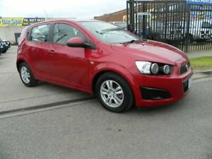 2013 Holden Barina TM MY14 CD Red 5 Speed Manual Hatchback Williamstown North Hobsons Bay Area Preview