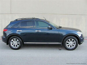 2005 Infiniti FX35 LUXURY PKG-H/LEATHER-SUNROOF---ONLY 69,000