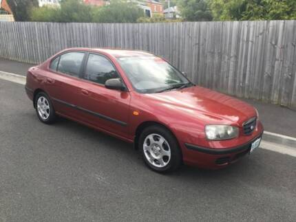 2002 HYUNDAI ELANTRA LOW KLMS (FOUR CYLINDER AUTO) North Hobart Hobart City Preview