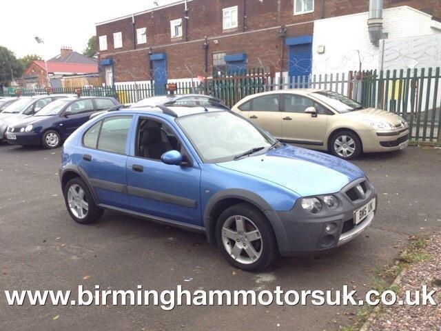 2003 53 Reg Rover Streetwise 14 16v S 103ps 5dr Hatchback Blue
