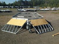 2016 4 Place Aluminum Snowmobile Trailers - IN STO
