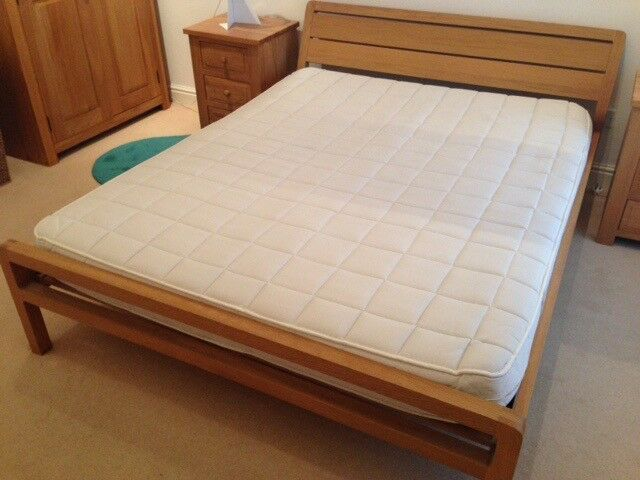 Habitat Radius Oak King Size Bed Frame (without Mattress) | in Bury ...