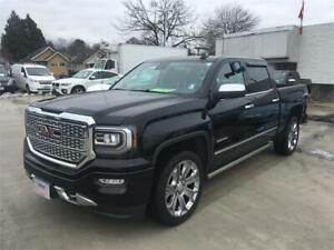 "NEW 2018 GMC Sierra 1500 Denali ULTIMATE 22"" wheels Power boards"