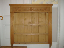 Pine Bookcase/shelf