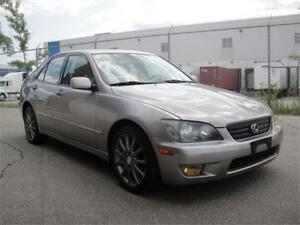 2004 LEXUS IS300 PREMIUM-LOADED,HEATED WHITE LEATHER,ALL POWER