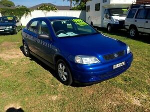 2005 Holden Astra TS Classic Blue 5 Speed Manual Hatchback Belmont Lake Macquarie Area Preview