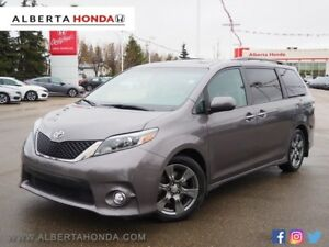 2017 Toyota Sienna Low Kms One Owner Clean Carproof Sunroof H