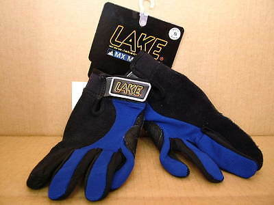 Mammoth Glove (New Lake MX Mammoth Gloves..Duramesh Back/Leather Palms - Men's Small )