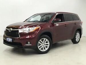 2014 Toyota Kluger GSU55R GX AWD Garnet Red 6 Speed Sports Automatic Wagon Edgewater Joondalup Area Preview