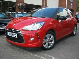2011 11-Reg Citroen DS3 1.6HDi DStyle,GEN 40,000 MILES,FREE ROAD TAX,70+ MPG!!!
