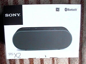 SONY SRS-X2 PORTABLE BLUETOOTH SPEAKER BRAND NEW