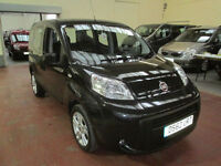 62 FIAT QUBO RIDE UP FRONT DISABLED ADAPTED