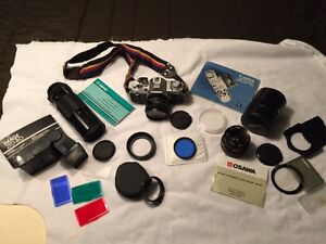Canon SLR Camera and lens