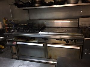 Used restaurant stove and griddle for sale