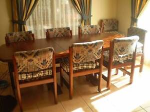 Dining Table & 8 Chairs Dakabin Pine Rivers Area Preview