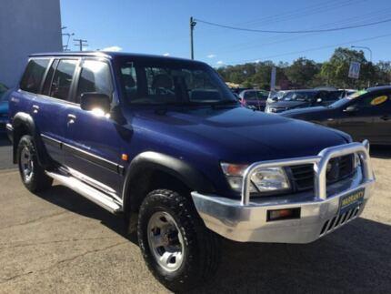 1998 Nissan Patrol GU AUTOMATIC 7 SEATS 4X4 DX Blue Automatic Wagon
