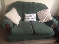 FREE green sofa! Easy to lift queens park road area