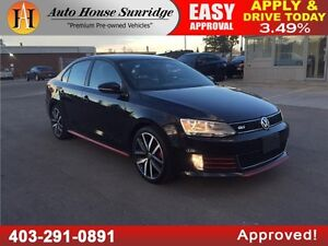 2013 Volkswagen Jetta GLI Leather, Sunroof, Everyone approved