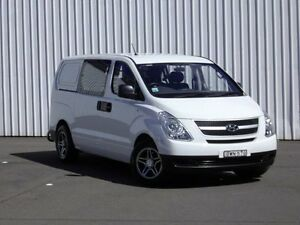 2011 Hyundai iLOAD TQ-V Crew Cab White 5 Speed Sports Automatic Van Kings Park Blacktown Area Preview