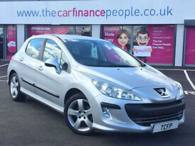 Peugeot 308 1.6 VTi ( 120bhp ) ** GOOD/BAD CREDIT CAR FINANCE *** FROM £20 P/WK