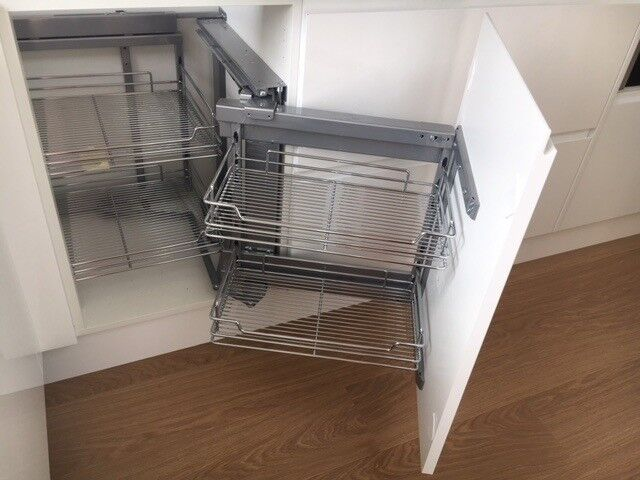 Wren Magic Corner For Right Hand Side Cabinet Fitted But Never Used In Coventry West