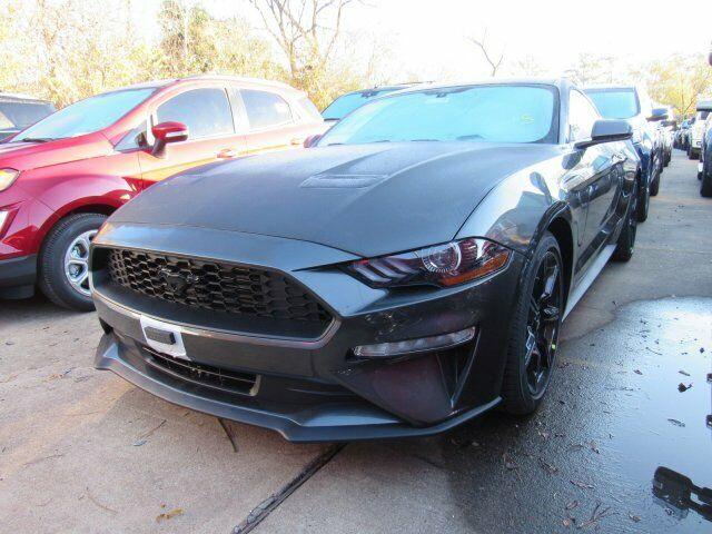 2020 Ford Mustang EcoBoost 1212 Miles Magnetic Metallic 2dr Car Intercooled Turb