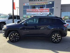2018 Jeep Compass LIMITED 4X4|LEATHER|PANORAMIC SUNROOF|NAVIGATI