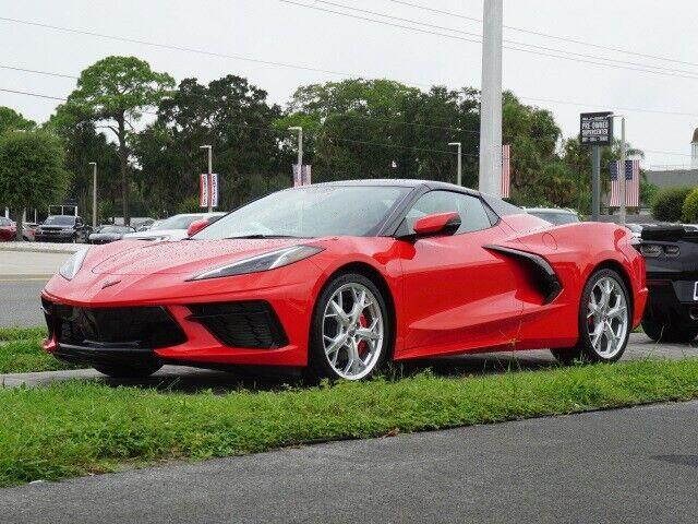 2021 Red Chevrolet Corvette Stingray  | C7 Corvette Photo 3