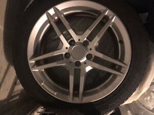 245/45R17 Winter Tires and Rims