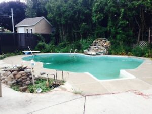 Fermeture Piscine-Service 72hrs-Message Text-514-629-1739