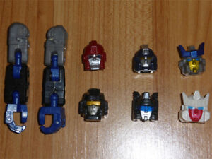 TRANSFORMERS ALTERNATOR BINALTECH MISC HEADS & LIMBS FOR CUSTOMS