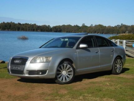 2006 Audi A6 4F 2.4 Silver 7 Speed Automatic Sedan Lansvale Liverpool Area Preview